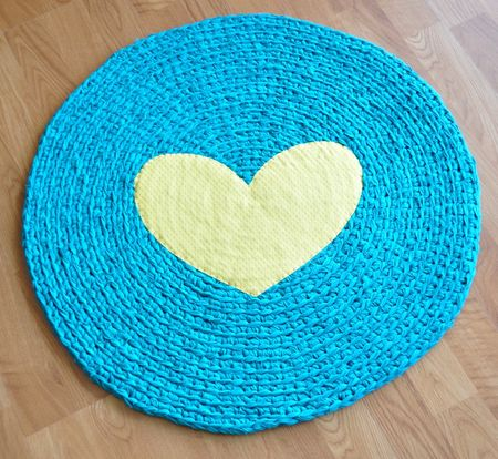 Recycled Crochet Rug by EKRA on Etsy I often write about sending wedding
