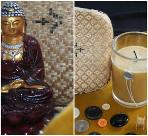 Buddha and yoga living