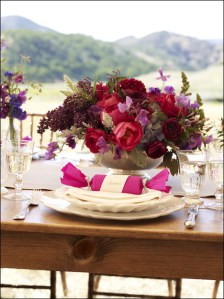 Farm Table Martha Stewart Weddings