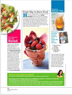 Ladies Home Journal with Eco Chic Home