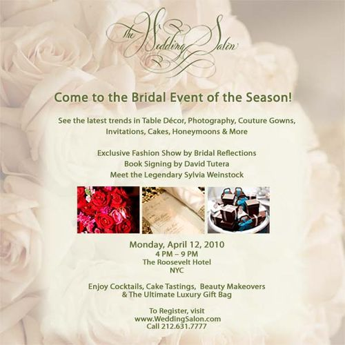 Wedding-salon-invitation event new york city
