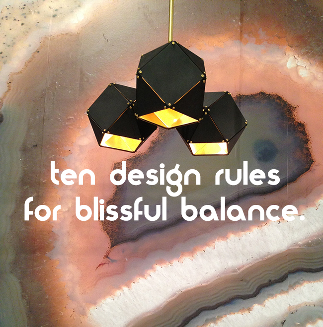 Good Design Rules