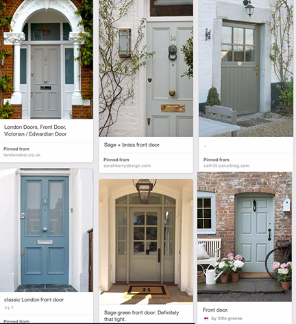 10 tips for picking your front door color